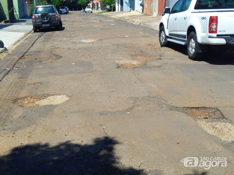 Malabim trabalha para que ruas do Romeu Tortorelli sejam recapeadas - Crédito: Divulgação