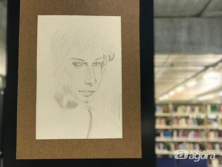 Biblioteca Comunitária da UFSCar apresenta exposições de desenhos - Crédito: Adriana Arruda/CCS-UFSCar