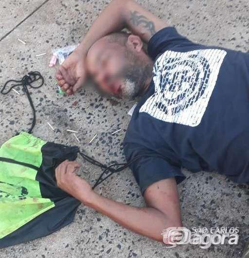 Morre homem que foi espancado após ser flagrado furtando celular no Santa Felícia - Crédito: Luciano Lopes