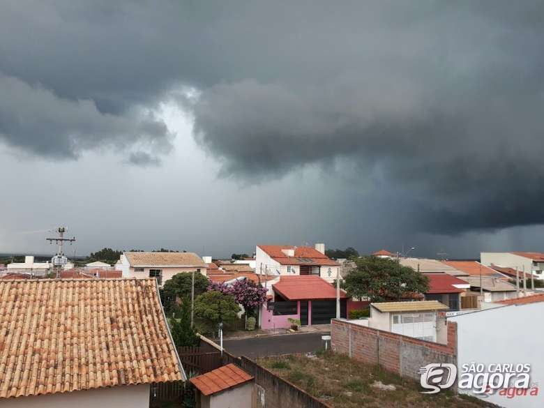 IPMET emite alerta de tempestade em São Carlos - Crédito: Arquivo SCA