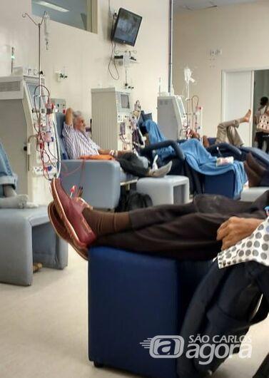 Pacientes que fazem hemodiálise sofrem com falta de medicamentos - Crédito: Divulgação