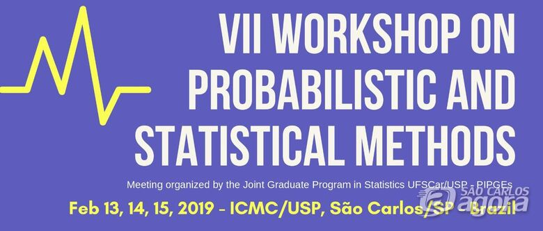 ICMC sedia em São Carlos, Workshop on Probabilistic and Statistical Methods -