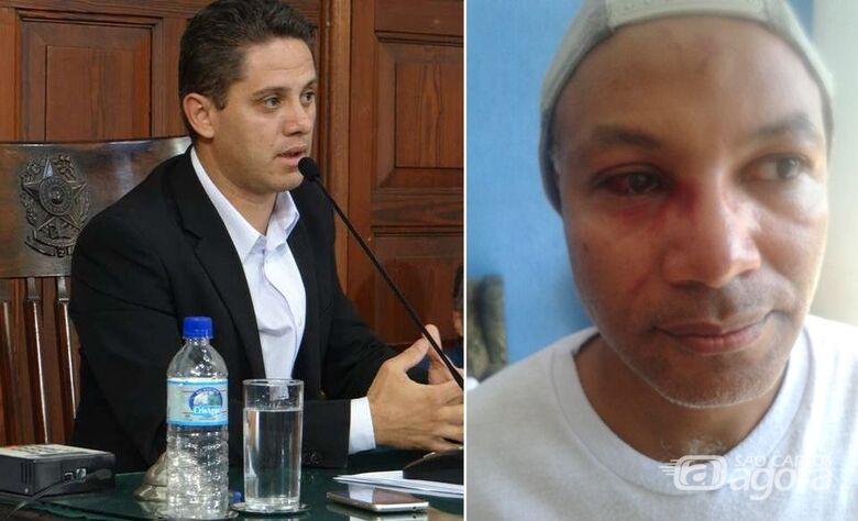 Versões diferentes e polêmica entre vereador e ativista de São Carlos - Crédito: Redes Sociais