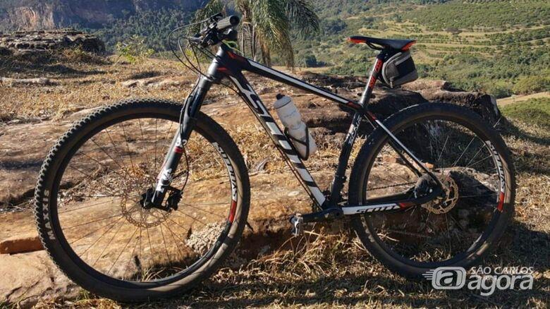 Proprietário pede ajuda para localizar bicicleta furtada na Vila Nery - Crédito: Arquivo Pessoal