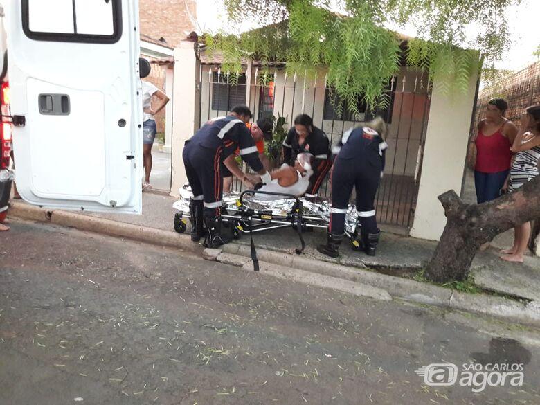 Homem fica ferido após ser vítima de agressão na Vila Jacobucci - Crédito: Maycon Maximino