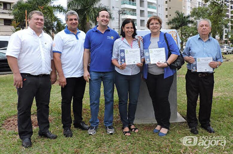 Plantio de árvores e homenagens marcam inauguração de praça em São Carlos - Crédito: Stela Martins - CCS/UFSCar