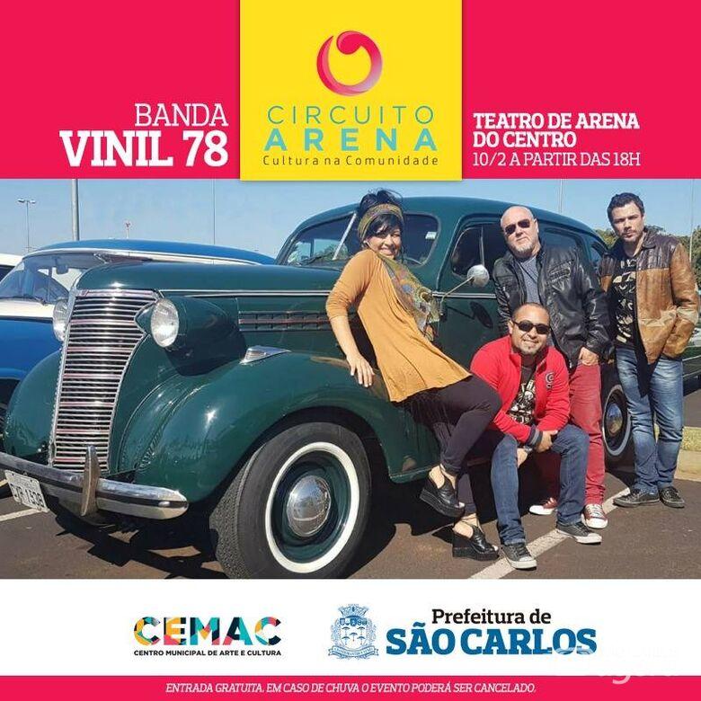 Circuito Arena 2019 começa domingo com Vinil 78 - Crédito: Divulgação