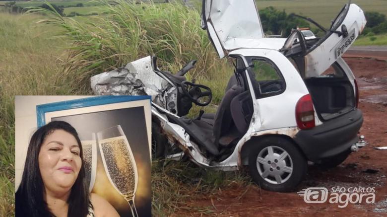 Acidente envolvendo carro de São Carlos deixa mulher morta na Jaú-Bocaina -