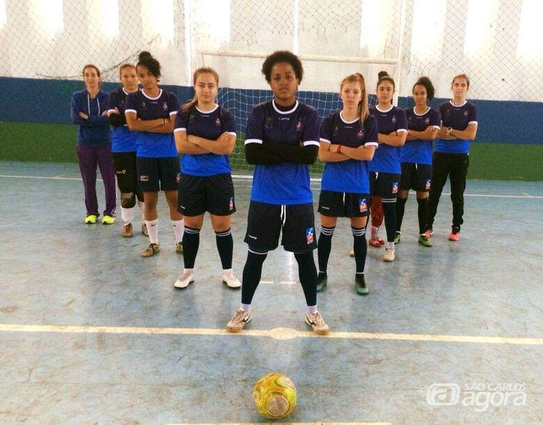 Meninas do futsal retornam aos treinos e ASF abre as portas para novos talentos - Crédito: Marcos Escrivani