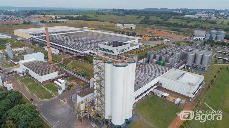 Heineken vai abrir 270 vagas e investir R$ 250 milhões em Araraquara - Crédito: Divulgação