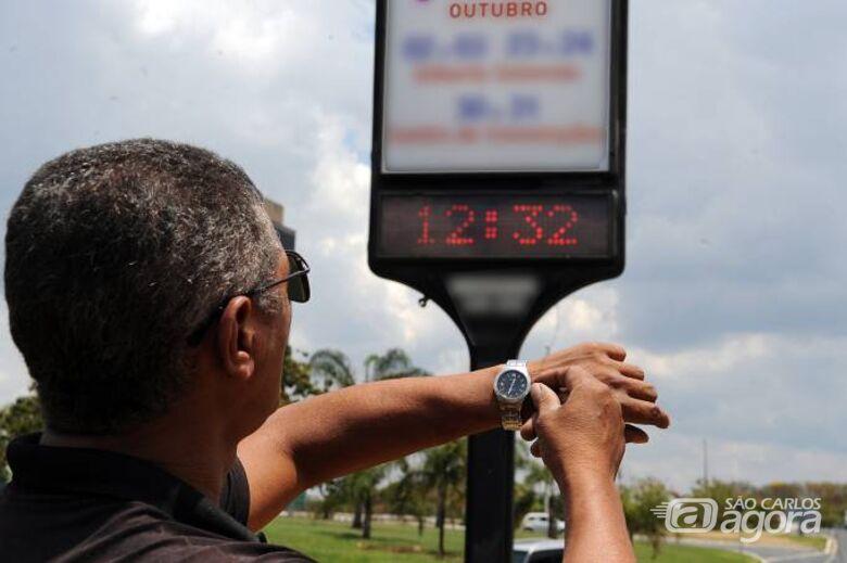 Horário de verão termina no próximo dia 16 - Crédito: Divulgação