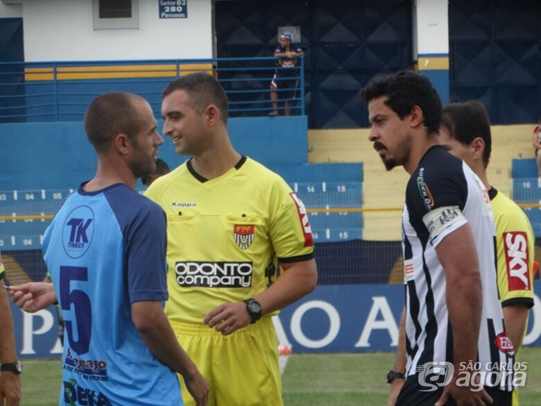 Pietro Dimitrof Stefanelli será o árbitro de Capivariano x São Carlos - Crédito: Marcos Escrivani