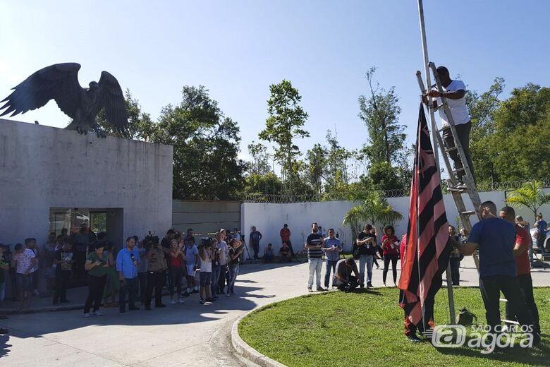 Incêndio no centro de treinamento do Flamengo deixa dez mortos - Crédito: Tomaz Silva/Agência Brasil