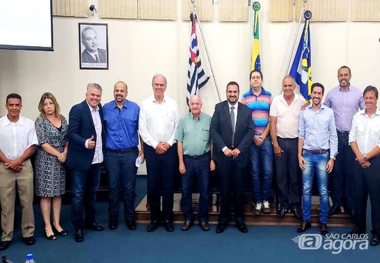 Deputado Estadual Julio Cesar se reúne com prefeitos e vereadores da região - Crédito: Divulgação