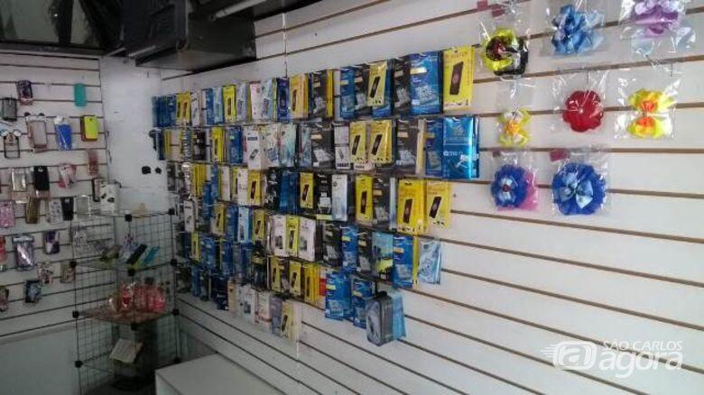 Loja de celulares é interditada na região central - Crédito: Divulgação