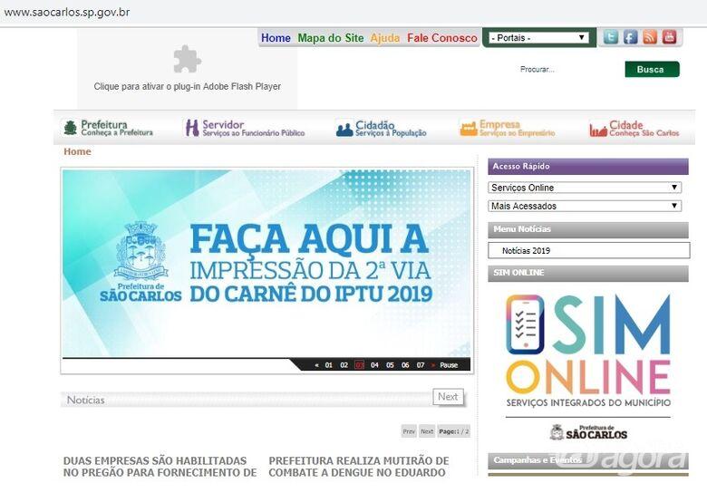 SIM Online tem mais de 15 serviços disponíveis - Crédito: Divulgação