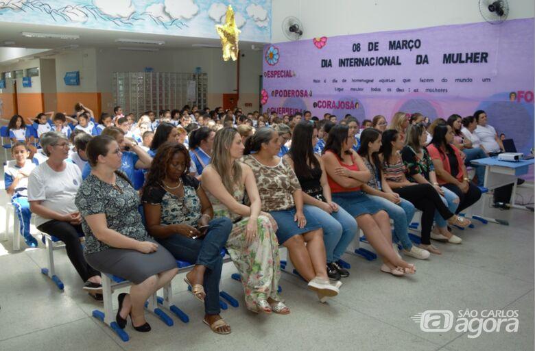 Escola Municipal de Ibaté celebra o Dia Internacional da Mulher - Crédito: Divulgação