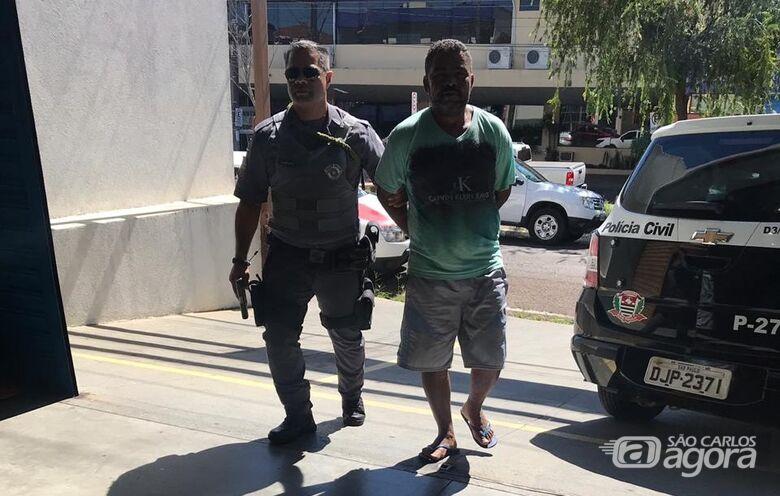 Procurado por estupro é detido na Henrique Gregori - Crédito: São Carlos Agora