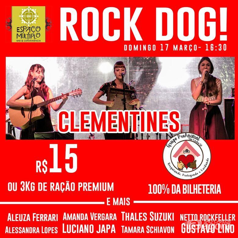 Em prol dos animais abandonados, Rock Dog promete agitar o final de semana - Crédito: Divulgação