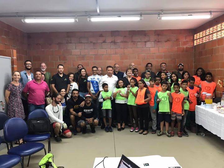 Projeto Pedal Consciente inaugura nova sede no Campus São Carlos da UFSCar - Crédito: Flor Carrizo