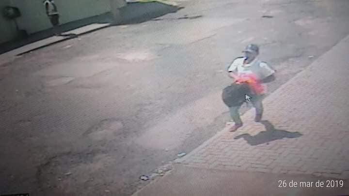 Bandido assalta loja e tenta estuprar funcionária no Fagá - Crédito: Divulgação