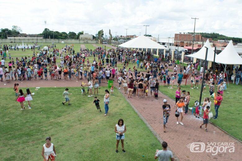 Prefeitura faz a festa da criançada na Matinê de Carnaval em Ibaté - Crédito: Divulgação