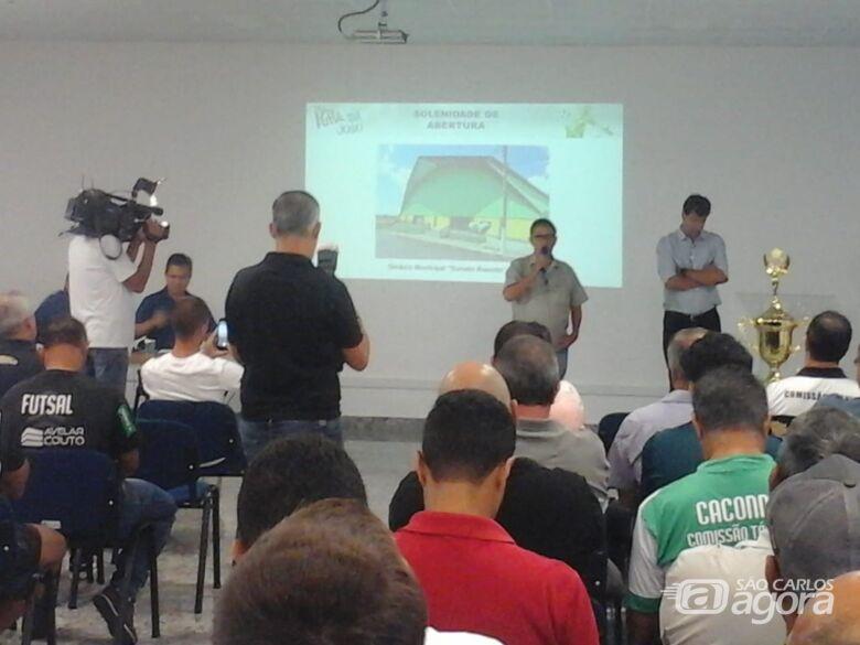 Ginásio Municipal de Ibaté recebe abertura da 23ª Taça EPTV pela primeira vez - Crédito: Divulgação