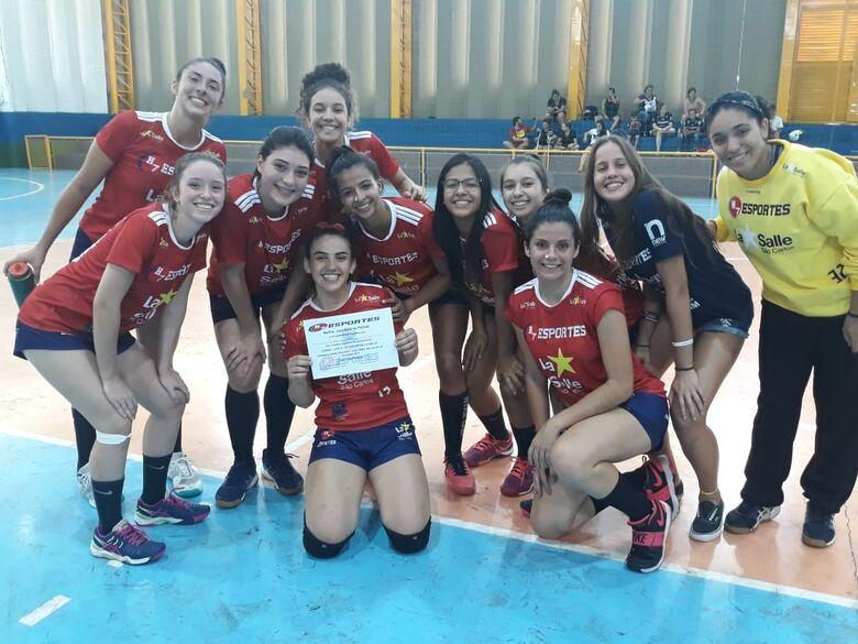 H7 Esportes/La Salle conquista dupla vitória na Copa Smel - Crédito: Marcos Escrivani