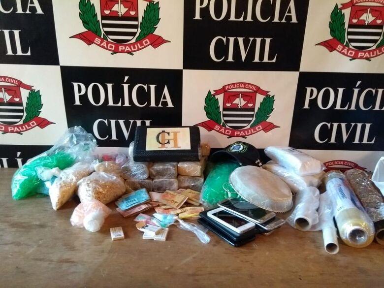 DISE apreende grande quantidade de drogas no Jockey Clube - Crédito: Divulgação