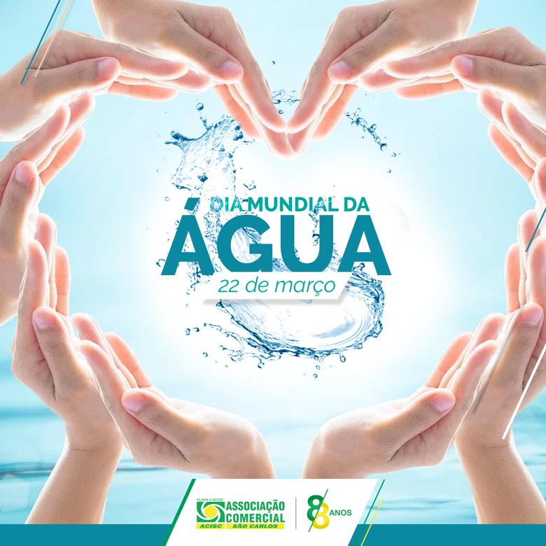 Dia Mundial da Água: Acisc alerta sobre problemas hídricos -