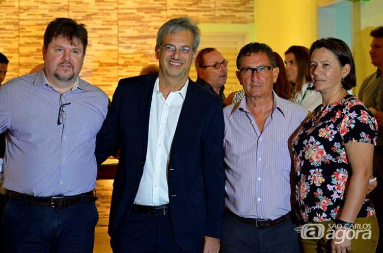 Vice-prefeito participa da inauguração do novo Posto de Atendimento da Unimed em Ibaté - Crédito: Divulgação