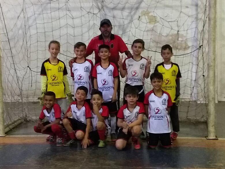 Salesianos A sub9 vence na estreia na Copa Sesi - Crédito: Divulgação
