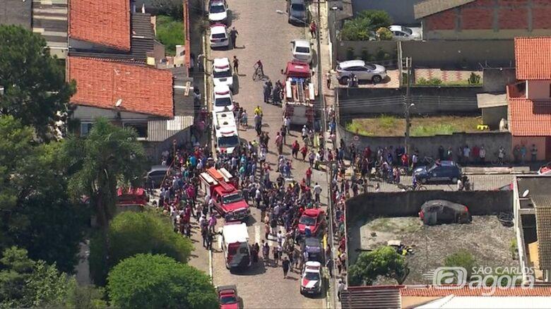 Tiroteio em escola deixa pelo menos oito mortos na Grande São Paulo - Crédito: Reprodução