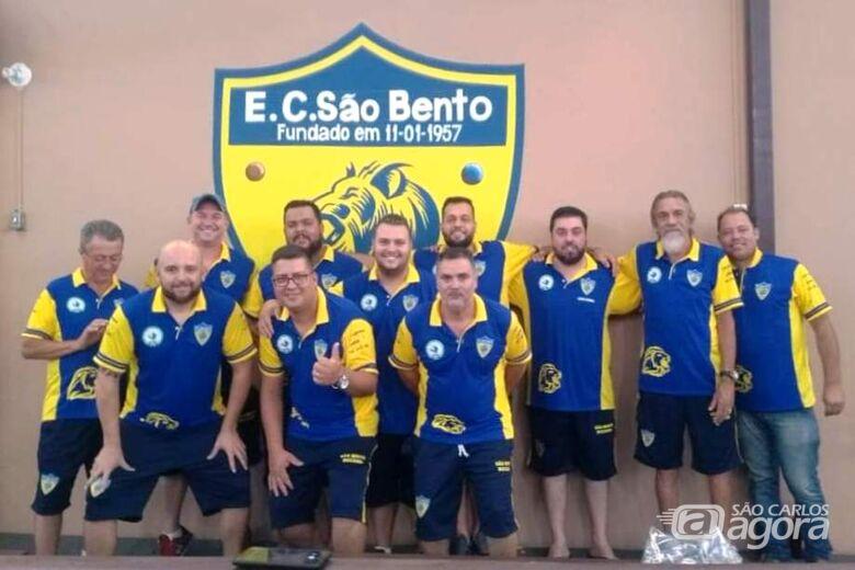 EC São Bento se prepara para fase regional da Copa União Interclubes - Crédito: Divulgação