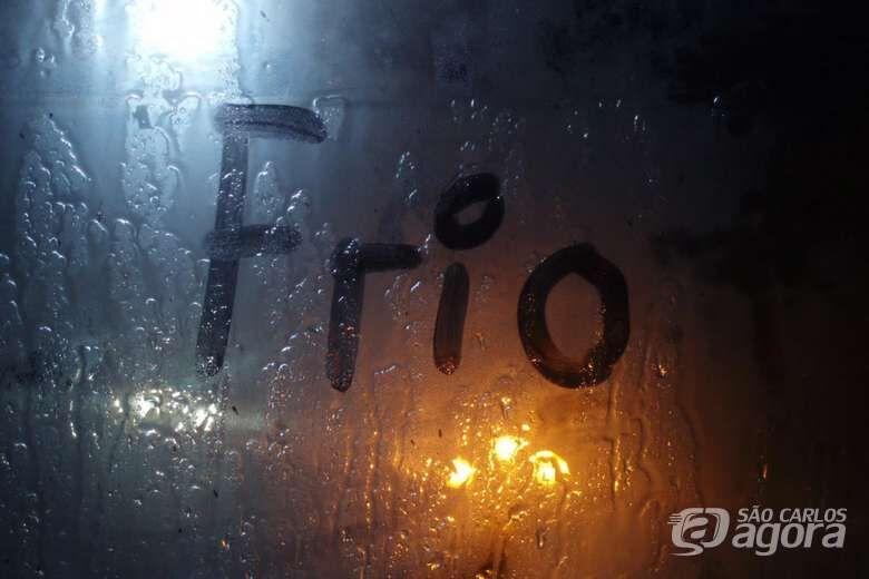 São Carlos tem sensação térmica de 9,7° C durante a madrugada - Crédito: Imagem Ilustrativa