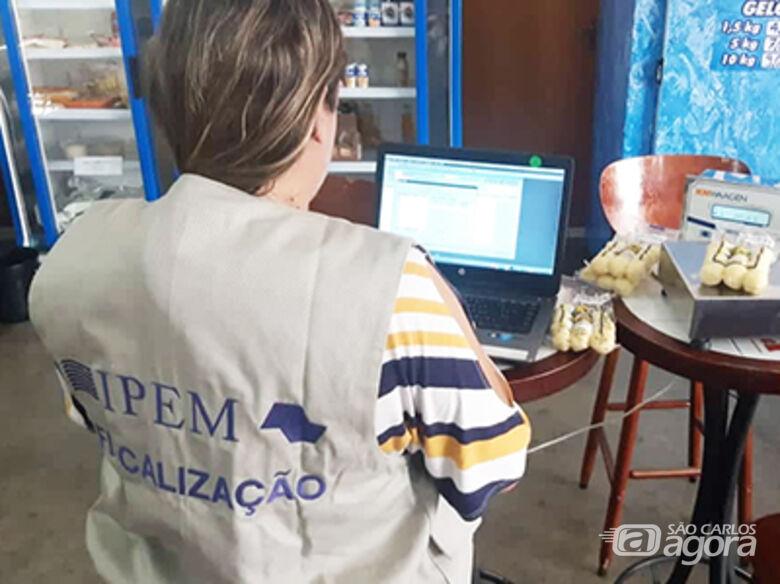 """Operação """"Pente Fino"""" do Ipem-SP encontra erros em 52% dos estabelecimentos fiscalizados no Estado - Crédito: Divulgação"""
