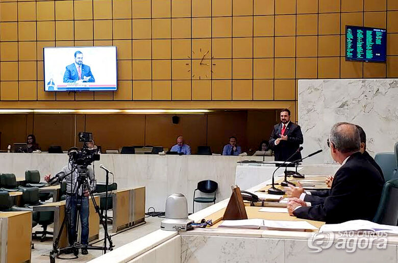 Na Alesp, deputado Julio Cesar protocola diversas demandas da região central - Crédito: Divulgação