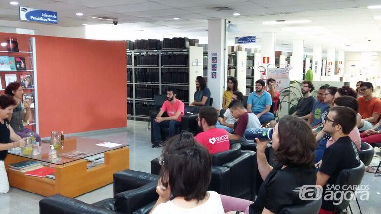 """Para todos os interessados - """"Momento Bem Estar"""" na Biblioteca do IFSC/USP São Carlos - Crédito: Divulgação"""