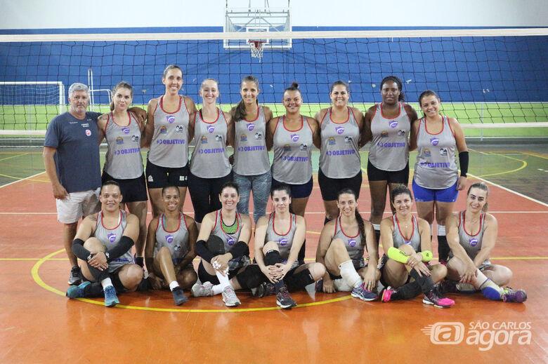 Objetivo/Smel inicia temporada e busca título no Fest Volley em Rio Preto - Crédito: Marcos Escrivani