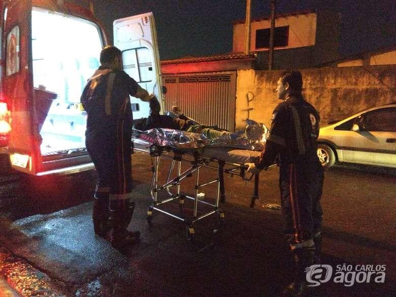 Adolescente acusado de matar jovem a pedradas é detido por policiais do 1º DP - Crédito: Arquivo/SCA