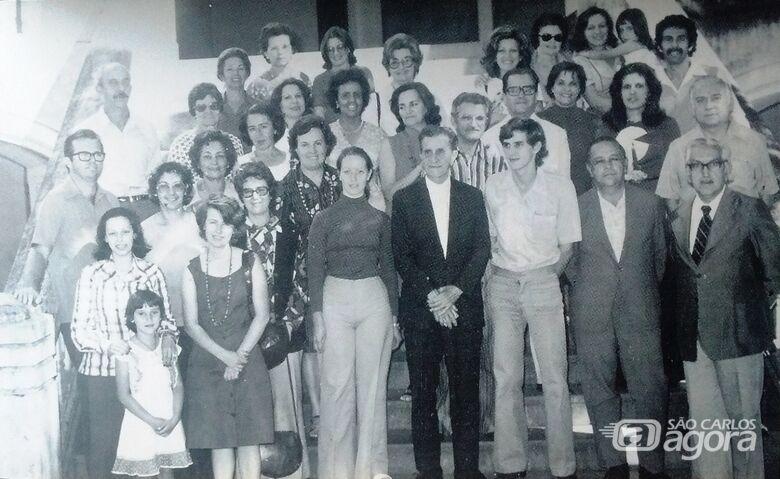 A lembrança de grandes mestres - Crédito: FPMSC/Memórias do Instituto