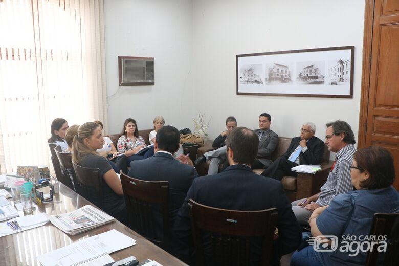 Comissão de Educação reúne-se com supervisores escolares - Crédito: Divulgação