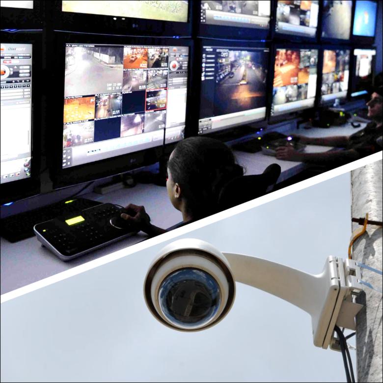 Jóquei Clube ganhará câmeras de segurança integradas com a Polícia Militar e a Guarda Municipal - Crédito: Divulgação