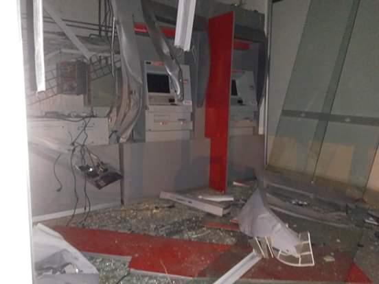 Três agências bancárias são explodidas durante a madrugada em Boa Esperança do Sul - Crédito: São Carlos Agora