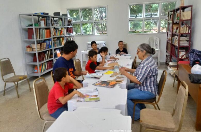 Crianças que integram projeto social participam de atividades no Centro da Juventude Elaine Viviani - Crédito: Divulgação