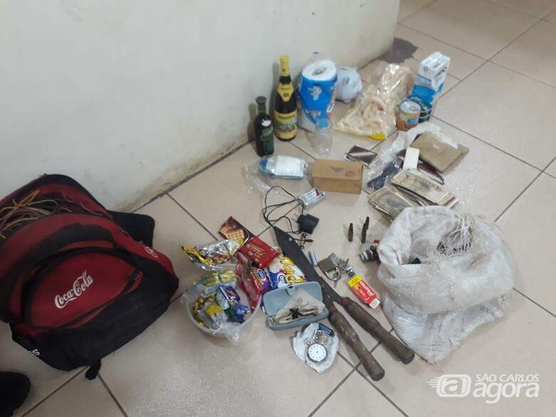 Ladrão é detido após furtar residência - Crédito: Divulgação