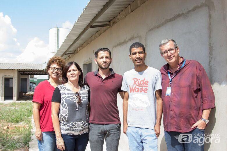 Obras na Emeb do Jardim Araucária estão em fase final de construção - Crédito: Divulgação