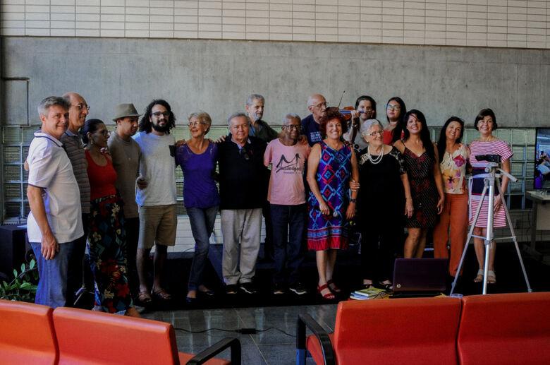 Encontro de Poetas reúne pessoas de diversas gerações na UFSCar - Crédito: Luiz Filipe Gambardella/CCS