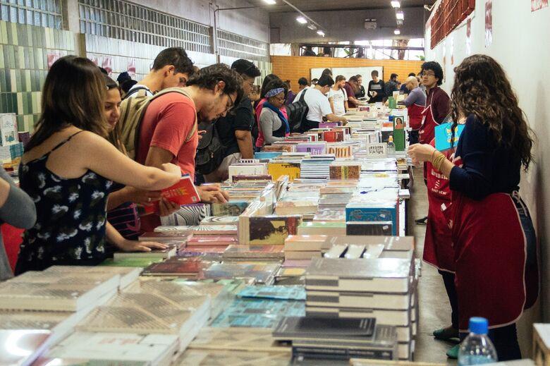 XVI Feira do Livro da UFSCar acontece entre os dias 7 e 9 de maio - Crédito: Divulgação