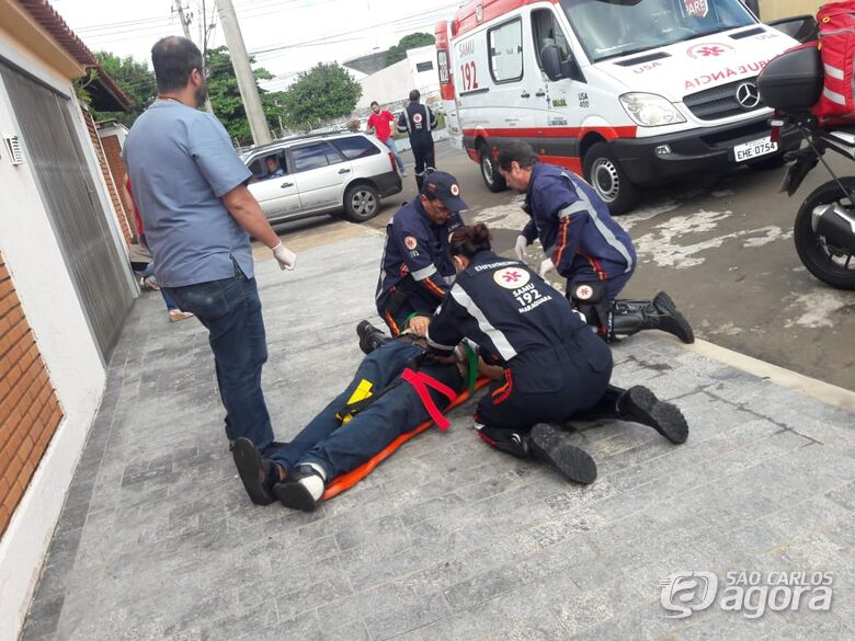 Equipe do Samu consegue reverter parada cardiorrespiratória e salva homem no Ricetti - Crédito: Maycon Maximino